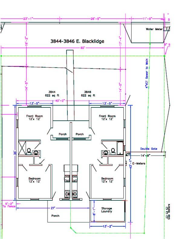 One Bedroom Duplex Pullen Properties